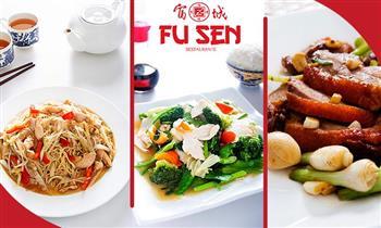 Almuerzo buffet en Chifa Fusen