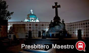 Noche de Halloween y show en el Cementerio Presbítero Maestro y mas.
