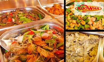 Almuerzo o cena Buffet Internacional en Kuo Wha Restaurant Oriental
