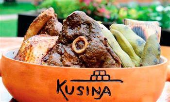 Kusina: 2 platos de fondo a elección + bebidas