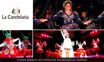 """2 o 4 entradas al espectáculo """"Folclor en La Candelaria"""" y más"""