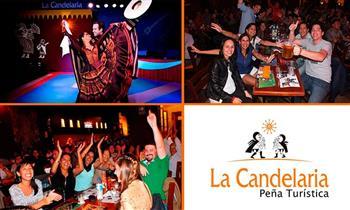 """La Candelaria: 2 o 4 entradas al espectáculo """"Folclor en La Candelaria"""""""
