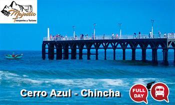 Cerro Azul y Chincha: Full con transporte + refrigerio + vinos y más