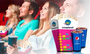 Cineplanet: Descuento en 2 entradas 2D + combo. Válido para Lima y Provincias