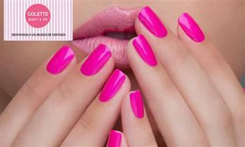 Surco: Pintado de uñas con color gel OPI