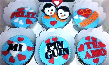 Delivery: 6 cupcakes 3D rellenos y más