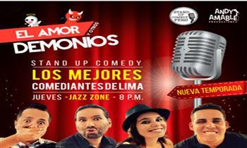 """Miraflores: 2x1 en entradas para el Stand Up comedy """"El amor y otros demonios"""""""