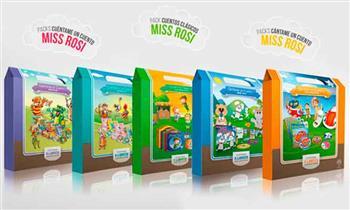 Pack de Miss Rosi con 6 cuentos clásicos.