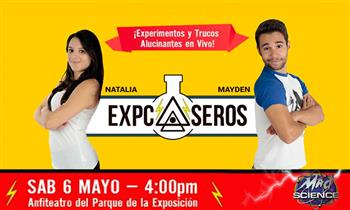 EXPCASEROS y MAD SCIENCE entrada General, Preferencial o Super VIP