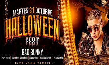 Halloween Fest– Bad Bunny, Son Tentación, Cesar Vega, Zaperoko, Josimar, Los Barraza y más