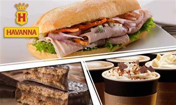 Café latte + sándwich + mini alfajor según elijas