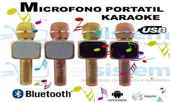 Lima: Karaoke inalámbrico: micrófono bluetooh y parlante incorporado