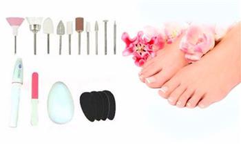 Set de manicure y pedicure 18 piezas