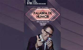 2 entradas para el show: Palabra de Humor