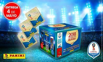Paquetón de figuritas del Mundial Rusia 2018