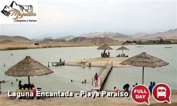 Full day a Laguna Encantada & Playa Paraiso - Huacho