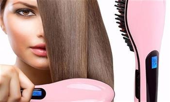 Peine alisador eléctrico para cabello