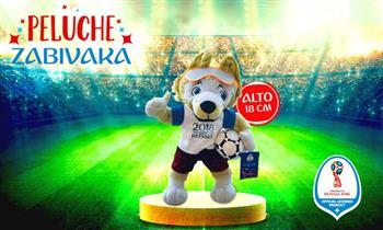 Peluche oficial del Mundial FIFA WORLD CUP Russia 2018