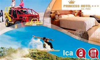 Ica: 1 o 2 noches para 2 en Hotel Princess.