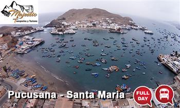 Pucusana y Santa Maria: Full day de playa en Pucusana y Sta Maria + desayuno