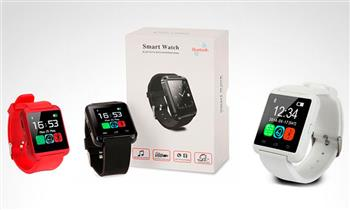 SmartWatch Bluetooth con pantalla táctil LCD para iPhone o smartphone