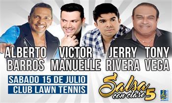 Entrada a concierto Salsa con Clase 5 con: Jerry Rivera & Victor Manuelle, Tony Vega y más