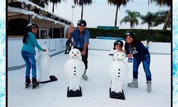 Chorrillos: patinaje sobre hielo para 1 o  2 personas.