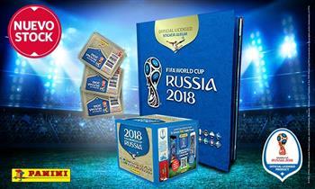 Álbum oficial tapa dura del Mundial Rusia 2018. Recojo desde el 02/04.