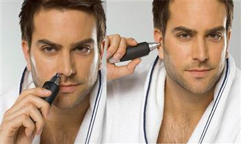 Depilador recortador de vello nasal y de oídos
