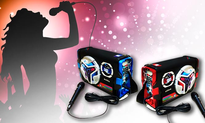 Karaoke en casa parlante micr fono lince cuponidad per - Karaoke en casa ...